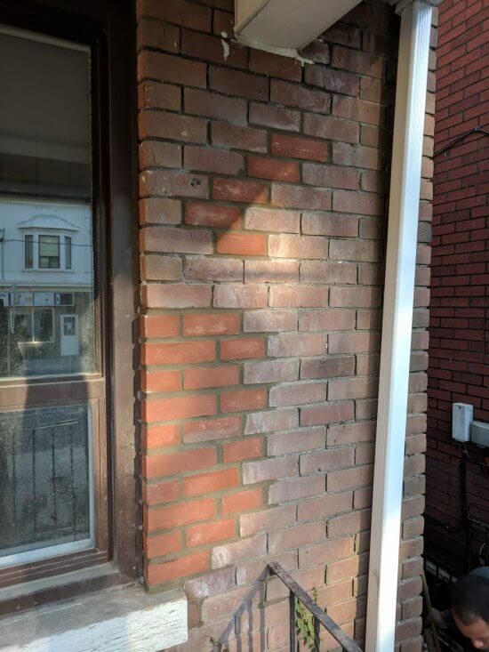 after of some brick replacement
